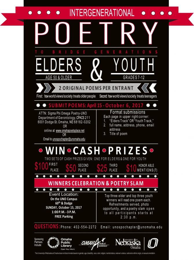 2017 Intergenerational Poetry Contest